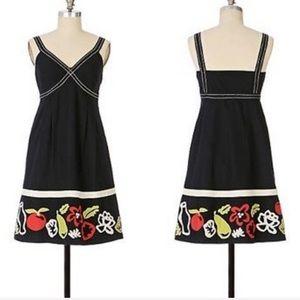 Anthropologie Maeve Salad Days Dress Size 10